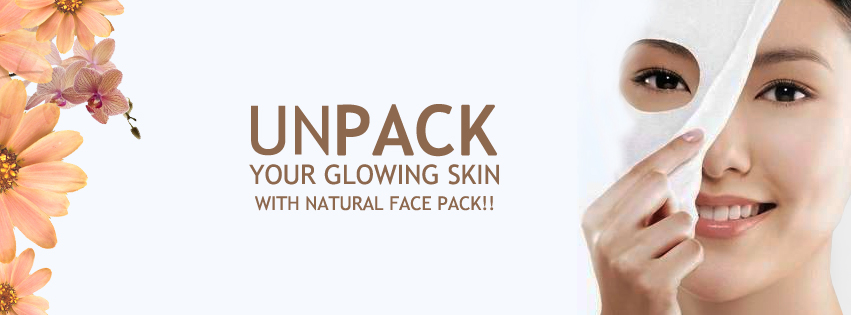 Natural Face Pack For Glowing Skin