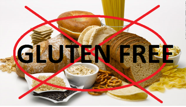Avoid gluten rich foods