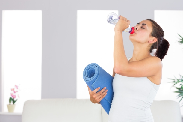 yoga + water