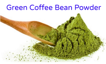 green coffee bean powder1