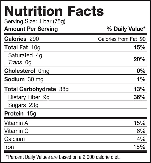 nutrition-facts-USA-greens-bar