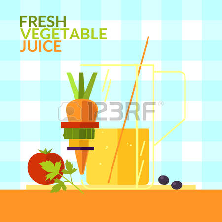 46281905-fresh-vegetable-juice-illustrations-for-design-website-infographic-poster-advertising