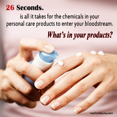 Say No Beauty Products With Chemicals